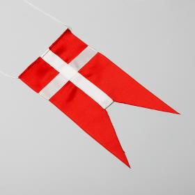 Dansk bordflag split